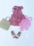 outfit da mare bambine