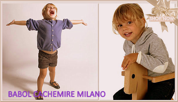 babol milano cachemire for kids