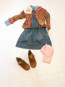BABY GAP ANIMAL PRINT AND FLOWERS outfit