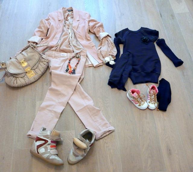 Birthday Outfit For Mom: LOOK MAMMA E FIGLIA PER FESTA DI COMPLEANNO Fiammisday