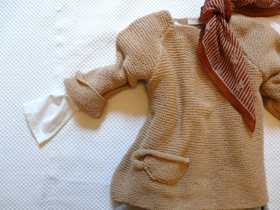 LITTLE SCARVES FOR SPRING 2013 caffelatteacolazione sweater