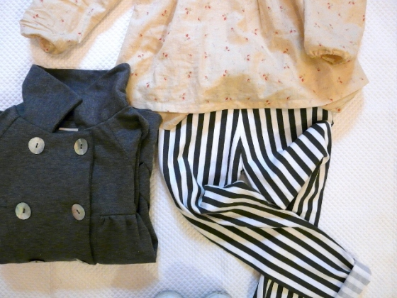 STRIPES and FLOWERS zara kids pants
